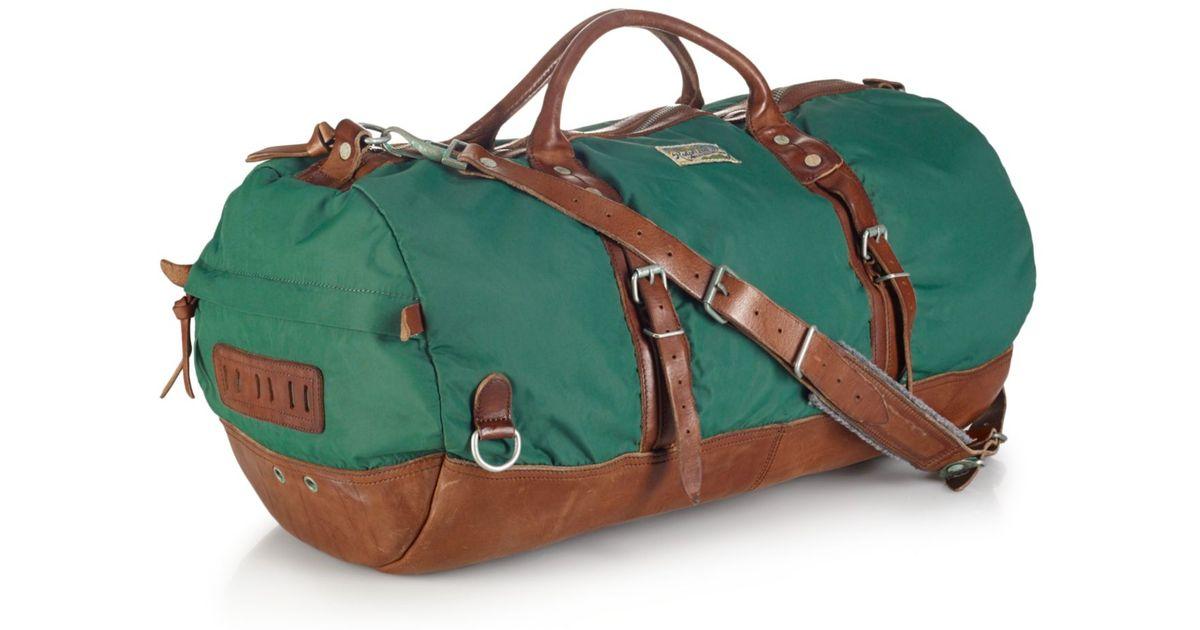 10e9476d55 Lyst - Polo Ralph Lauren Yosemite Nylon Duffle Bag in Green for Men