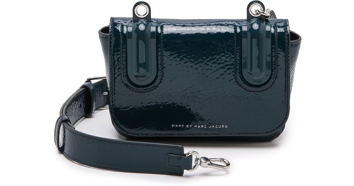 54f8427df3 Lyst - Marc By Marc Jacobs Ball Chain Cross Body Bag Black in Green