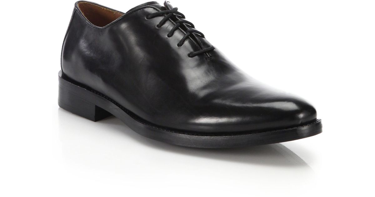 9293d4c4e26dba Lyst - Cole Haan Preston Leather Lace-up Oxfords in Black for Men