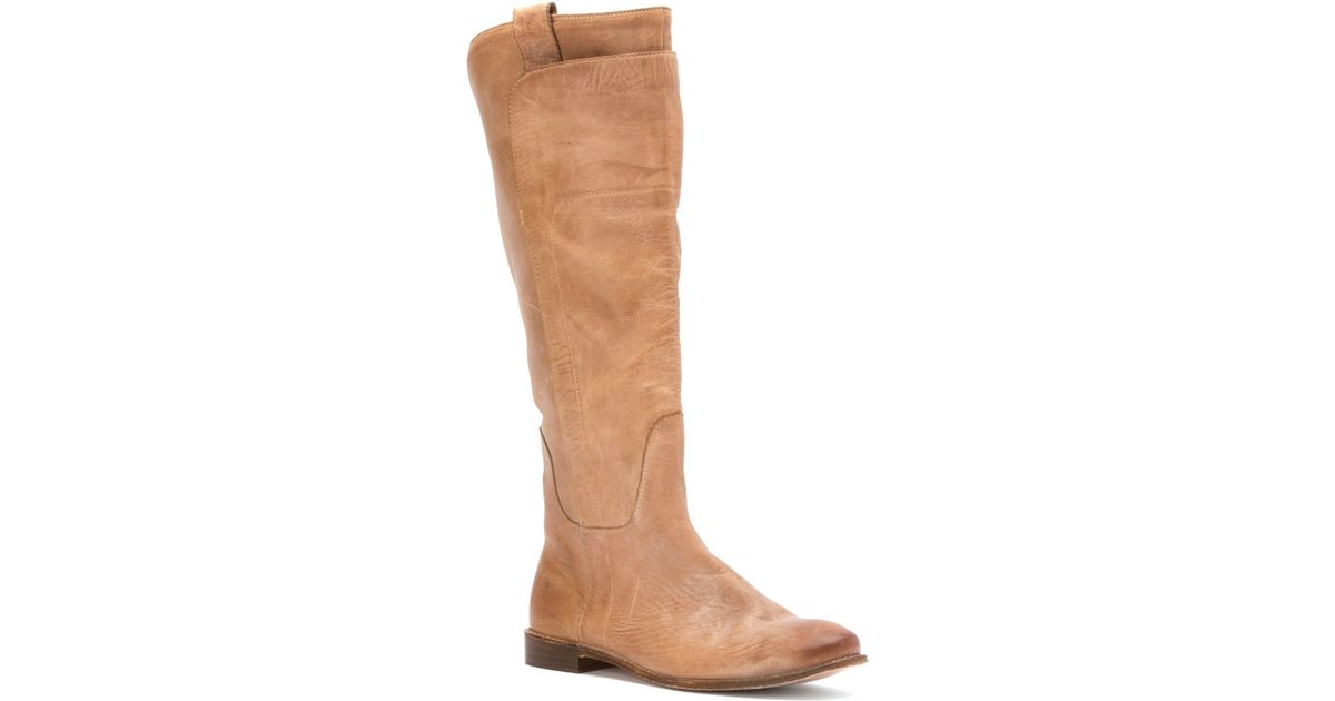 baedcac15b42 Lyst - Frye Paige Tall Riding Boot in Brown