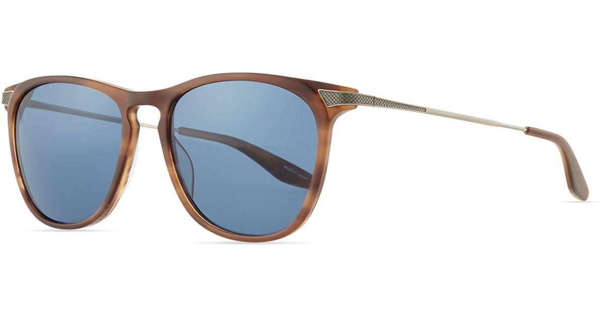 Lyst - Barton Perreira Hakan Square Sunglasses in Brown for Men