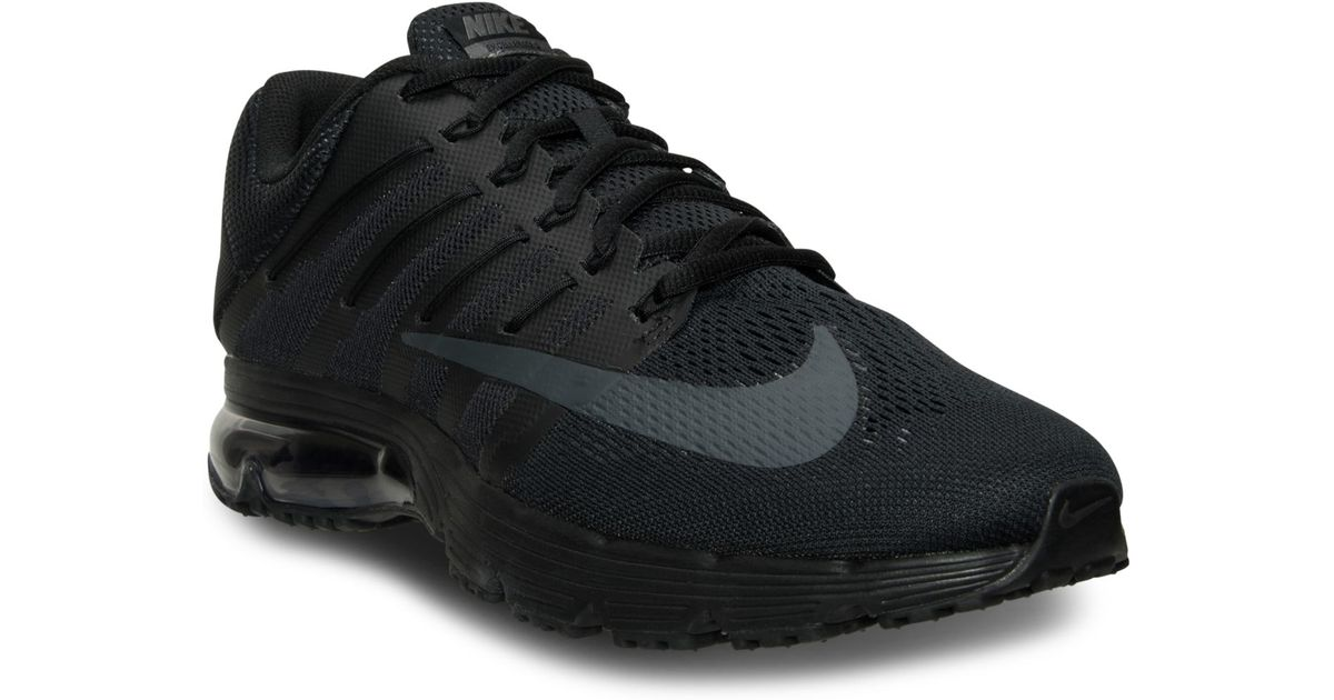 size 40 3771f 6dbd6 ... sweden lyst nike mens air max excellerate 4 running sneakers from  finish line in black for