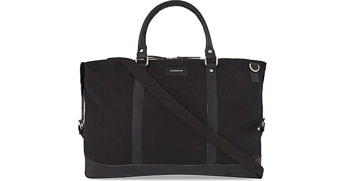 be3ecaab60 Lyst - Sandqvist Jordan Weekend Bag in Black