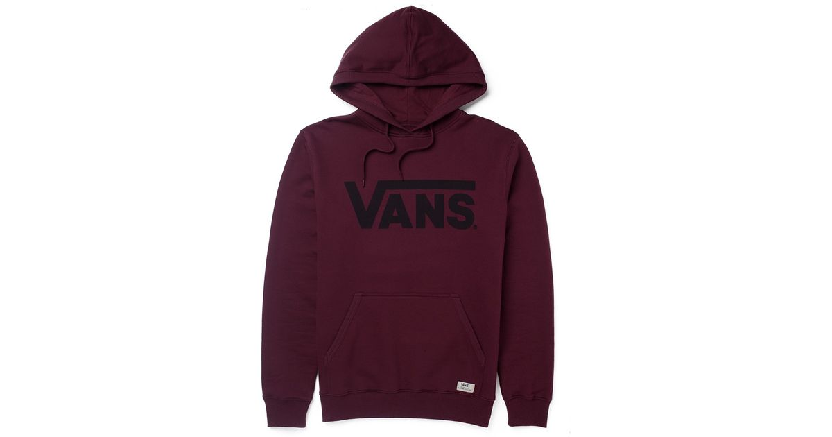 fa23bc409d723b Lyst - Vans Classic Pullover Hoodie In Wine in Red for Men