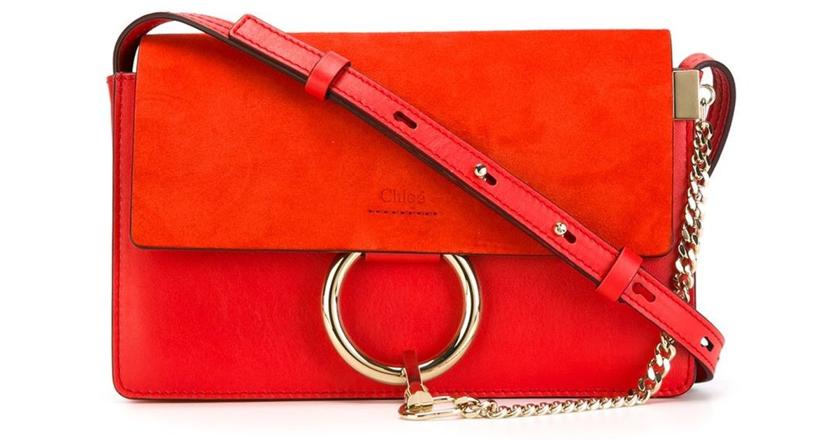 chloe leather bags - chloe-red-faye-crossbody-bag-product-0-653036365-normal.jpeg