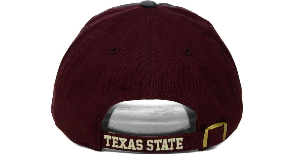 super popular ce341 82320 ... czech lyst 47 brand texas state bobcats clean up cap in gray for men  539df 3b107