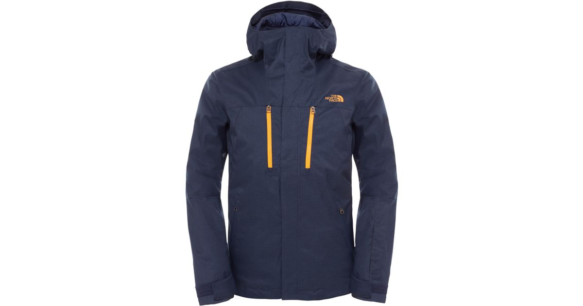 1d3aa1280ace The North Face Contrin Waterproof Men s Jacket in Blue for Men - Lyst
