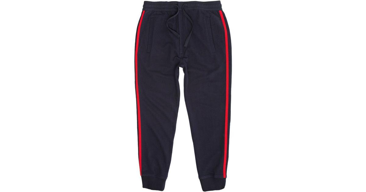 263576ba247 Lyst - Folk Navy Side Tape Jogging Pants in Blue for Men