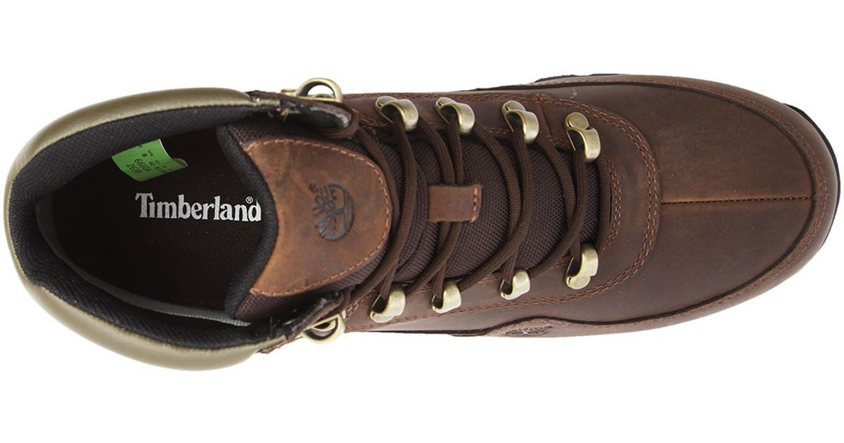 Timberland Euro Hiker Gore Tex Brown Boots In Brown For