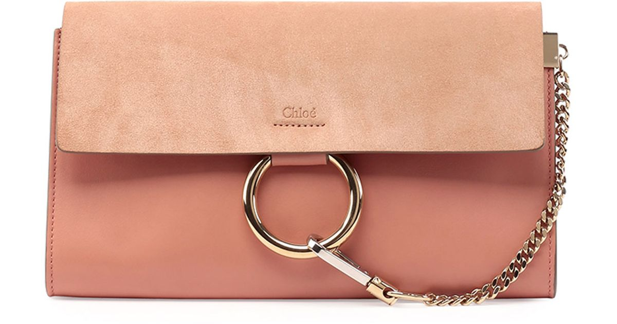 chlo bags - chloe metallic leather pouch, replica chloe bags