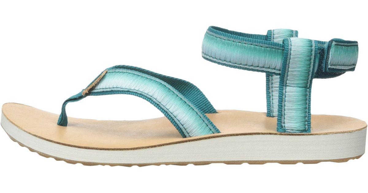 6d695fe5f Lyst - Teva Original Sandal Ombre in Blue