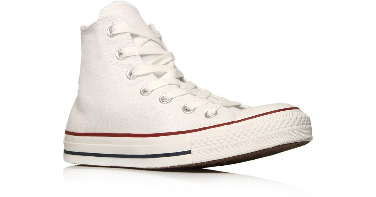 8e2a819d5d5f Lyst - Converse White Chuck Taylor All Star Hi Top Trainers in White for Men