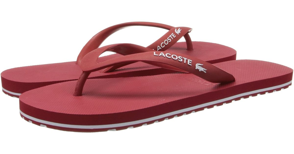 750262fd1817 Lyst - Lacoste Nosara Lcr in Red for Men