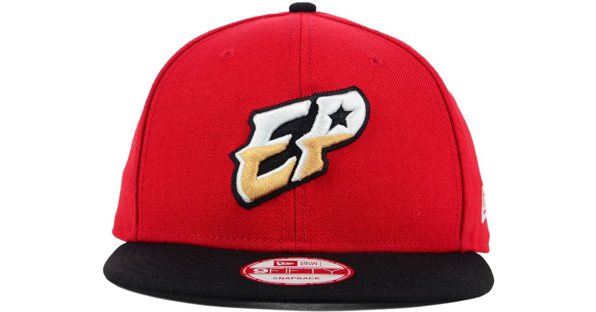 Lyst - KTZ El Paso Chihuahuas Custom Collection 9fifty Snapback Cap in Red  for Men 701ce4a0ff6