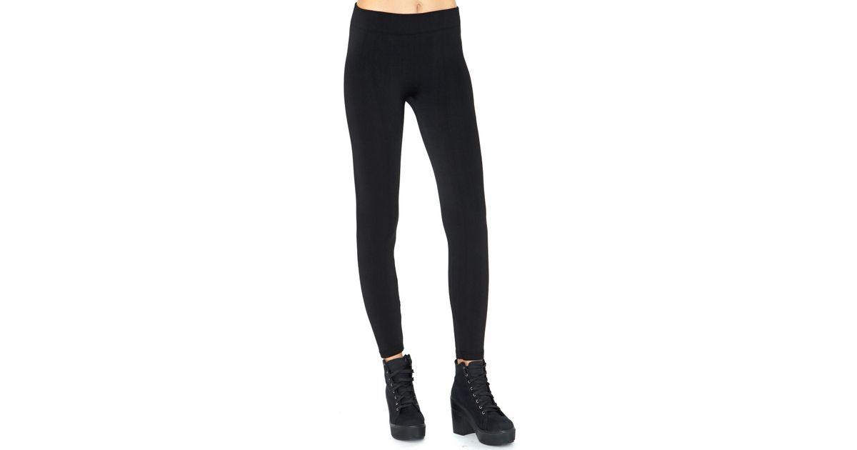 Lyst - Missguided Ikera Glitter Leggings in Black in Black b0bec0feefdd