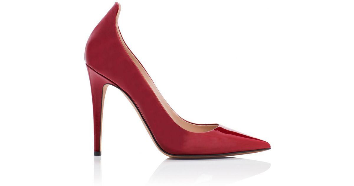 bbfd92223572 Lyst - Tamara Mellon Diva Patent - 110mm in Red