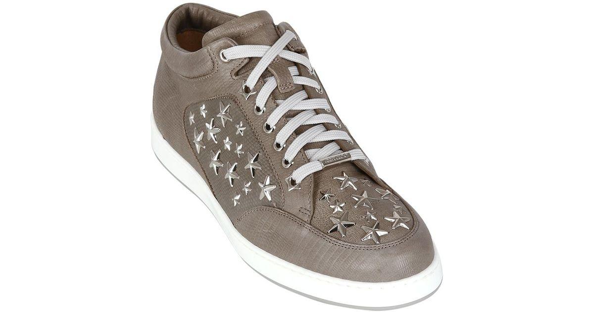 Jimmy choo Miami Star sneakers FKRhCvLs