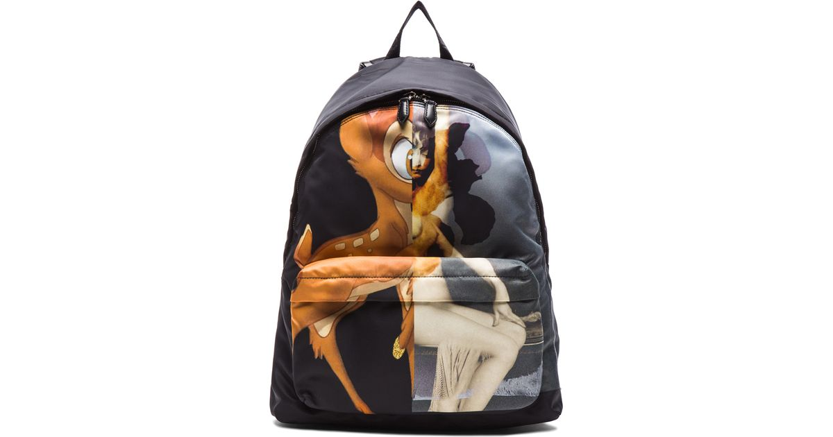 2da1b15dedd2 Lyst - Givenchy Men S Bambi Backpack in Black