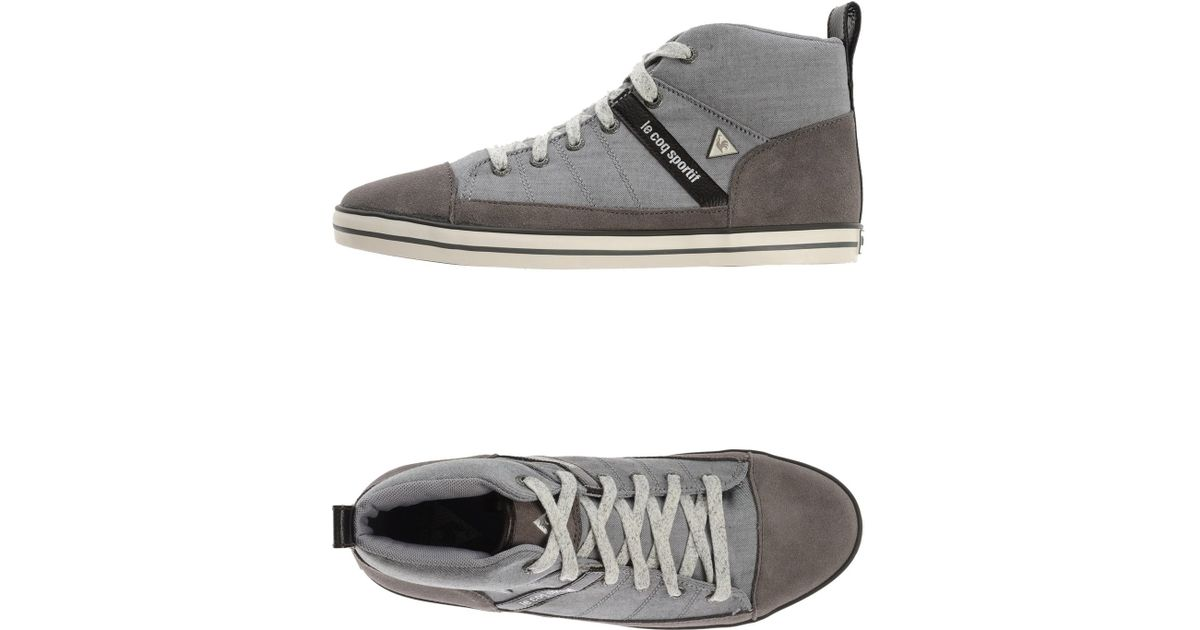 Le High Topsamp; Men Gray Trainers Coq For Sportif Lyst 0N8vnmw