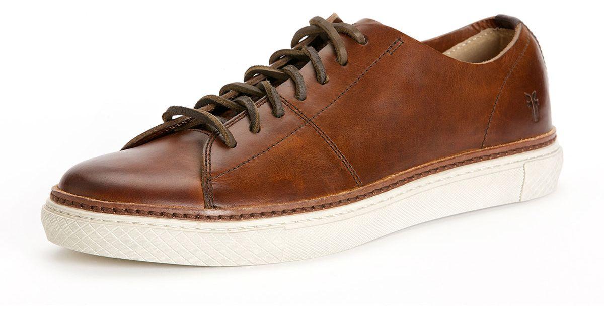 FRYE Mens Gates LowTop Laceup Fashion Sneaker  FZ2DKUF51