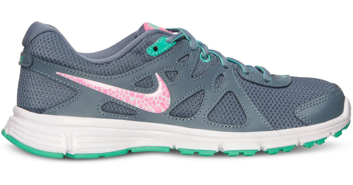 ... 1627a f600f Lyst - Nike Womens Revolution 2 Running Sneakers From  Finish Line in Blue low ... ff3d724872