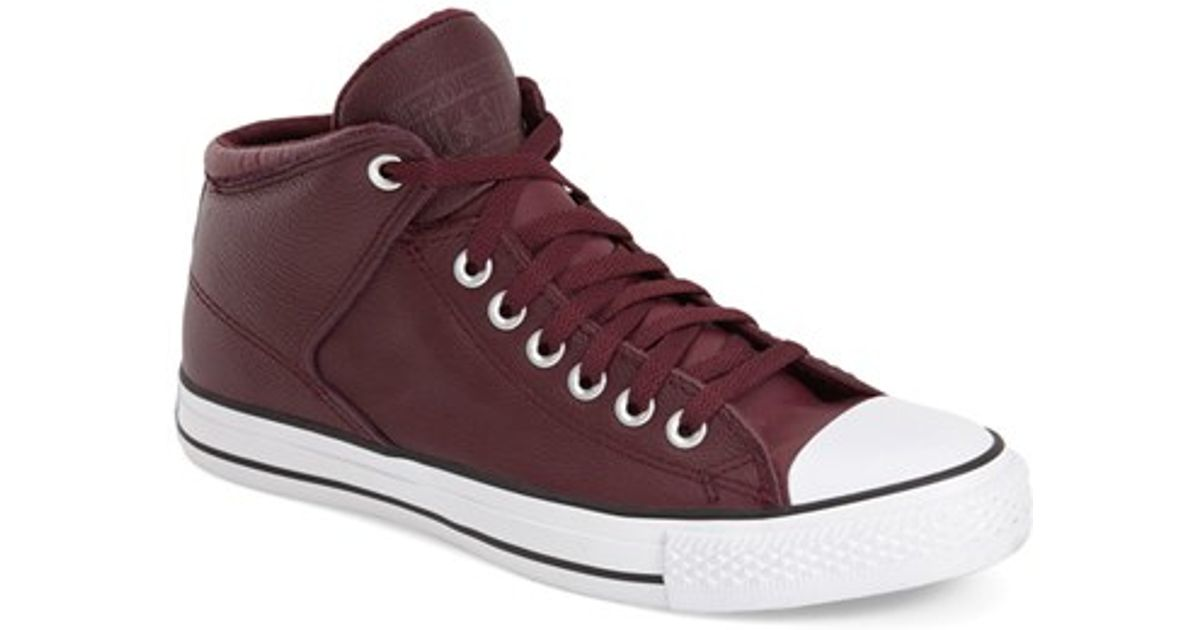 Converse - Chuck Taylor All Star High - Sneaker - bordeaux NWtBaqW