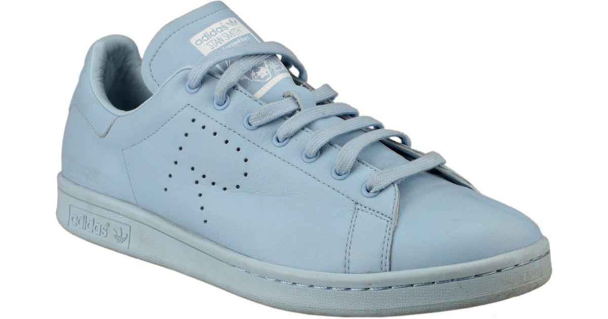 brand new c590a 4a8ad Adidas Lyst azul Simons en cuero Smith By de Stan Zapatillas Raf OqRX6w