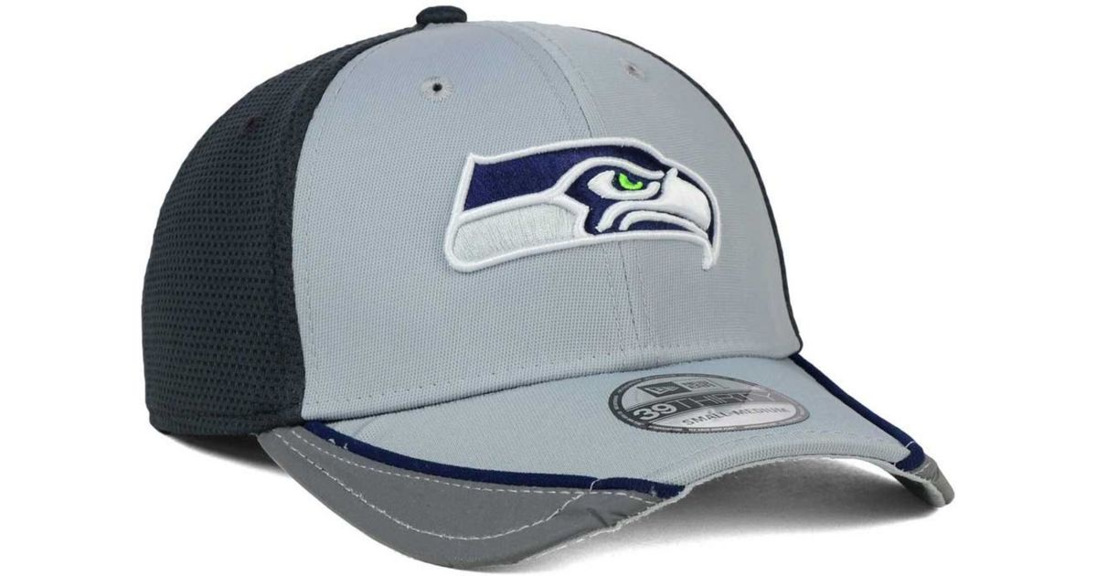separation shoes 23148 0723b Lyst - KTZ Seattle Seahawks Chase Gray Reflective 39thirty Cap in Gray for  Men