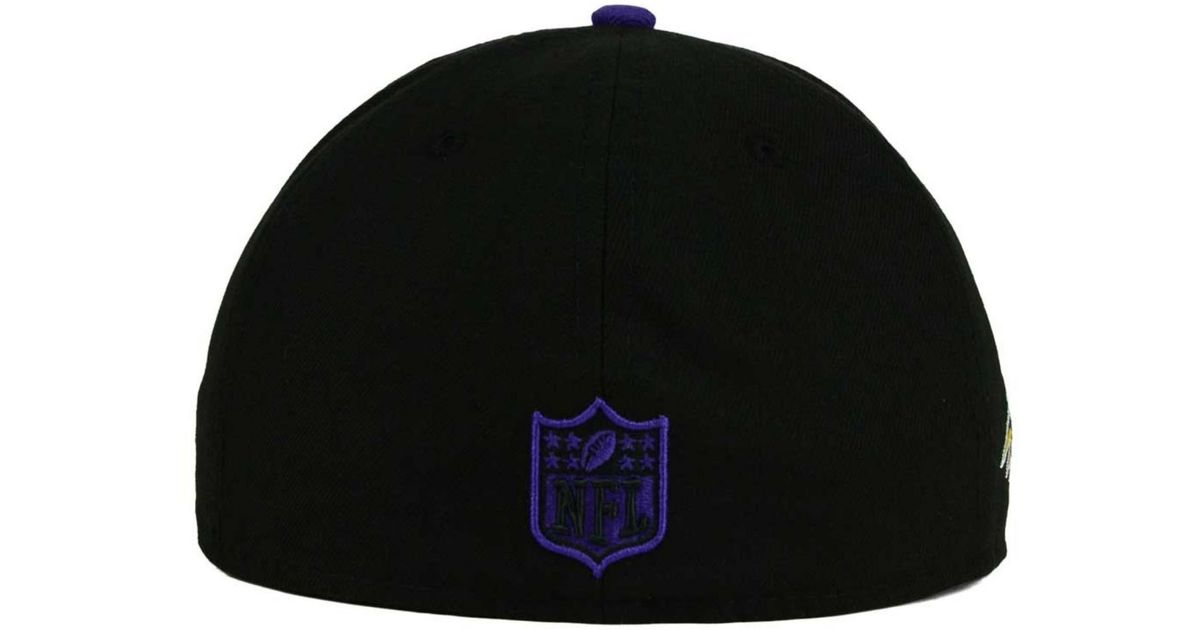 the latest 93a4a c429a ... discount code for lyst ktz baltimore ravens state flective redux  59fifty cap in black for men