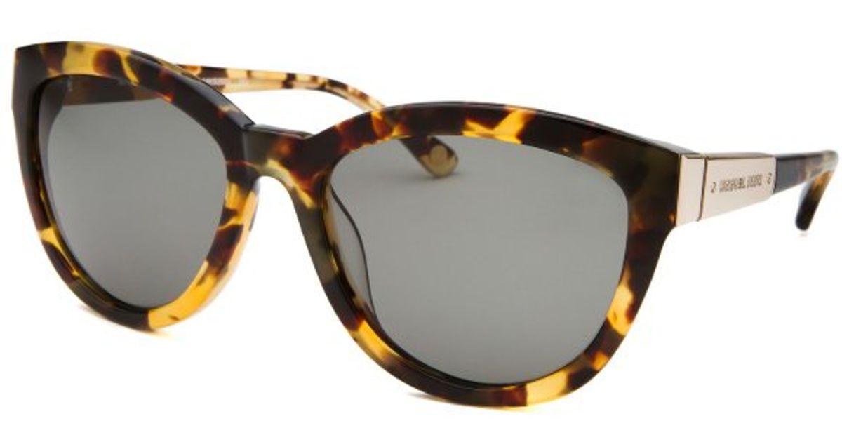 Michael Kors Sasha Sunglasses  michael kors womens sasha cateye tokyo tortoise sunglasses in