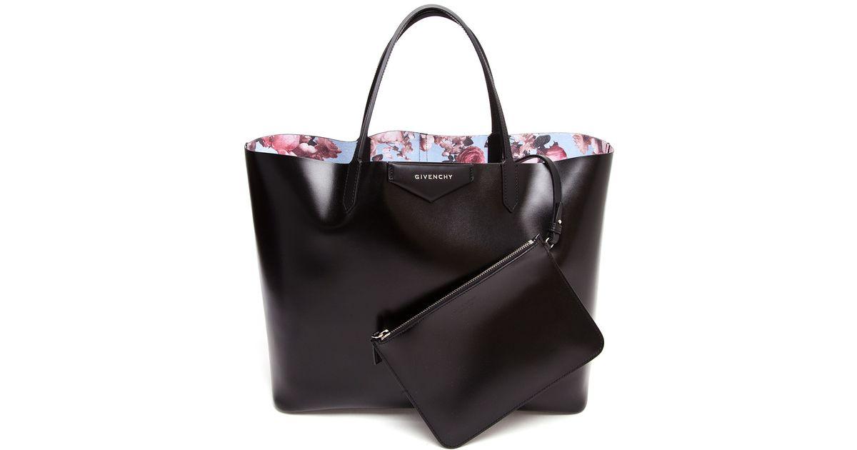 eb6fb546e9 Lyst - Givenchy Antigona Faux Leather Tote Bag in Black