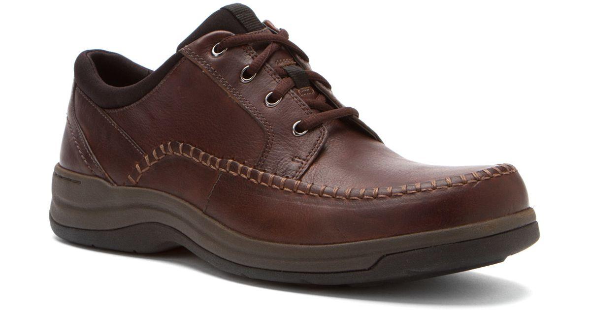bd4c601a Clarks - Brown Portland 2 Tie for Men - Lyst