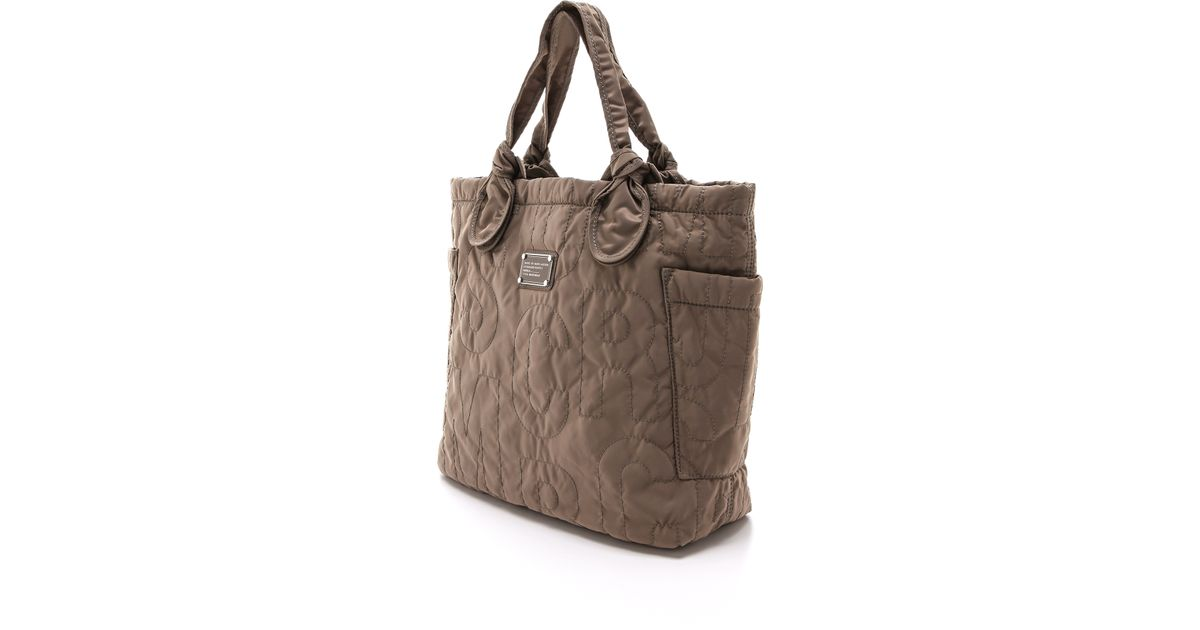 d3203f55f4 Marc By Marc Jacobs Preppy Nylon Medium Tate Bag - Quartz Grey in Gray -  Lyst