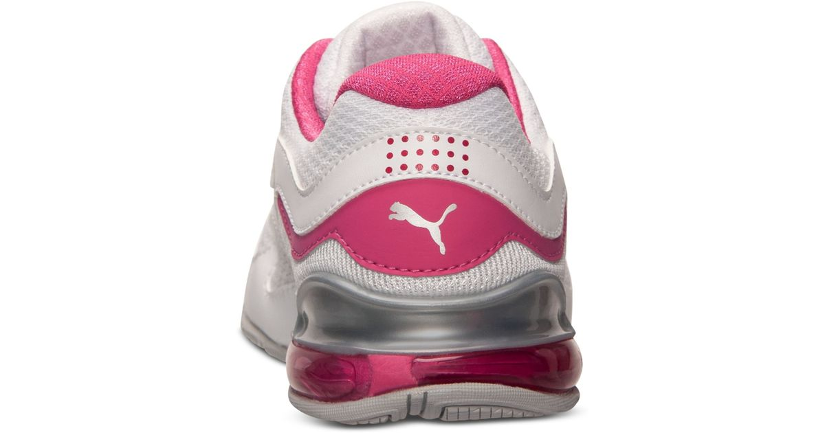 Lyst - Puma Women S Cell Riaze Ttm Running Sneakers From Finish Line in Pink b30f3b451