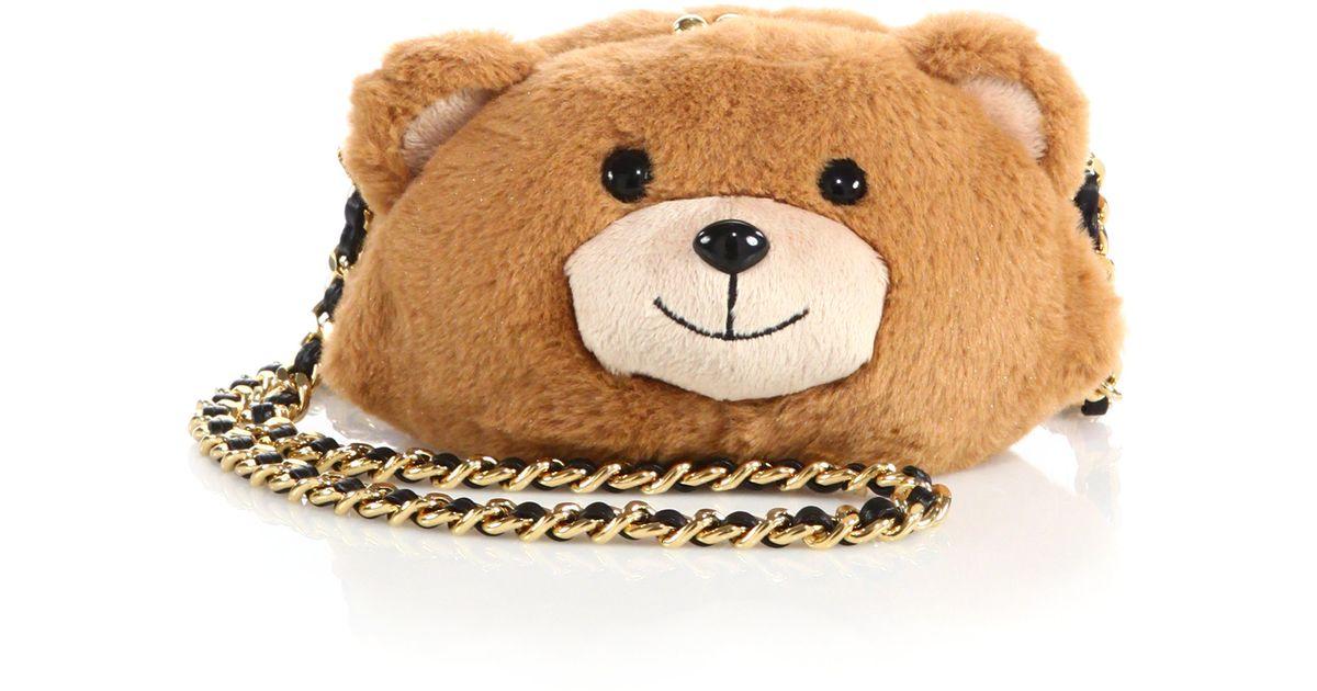 Teddy Bolso Moschino Bear Bolso Teddy Bear Bolso Moschino Teddy Bear Moschino Bolso Bear Teddy Moschino Bolso gx61E