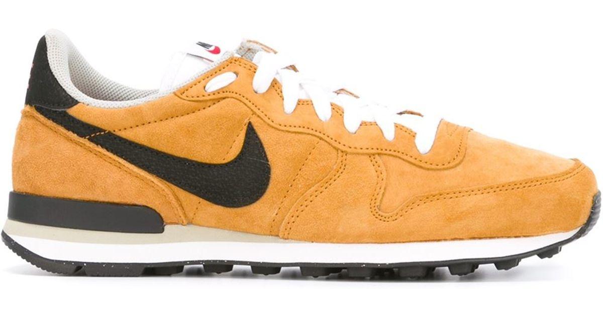8659ad35052 Lyst - Nike  internationalist  Sneakers in Yellow for Men