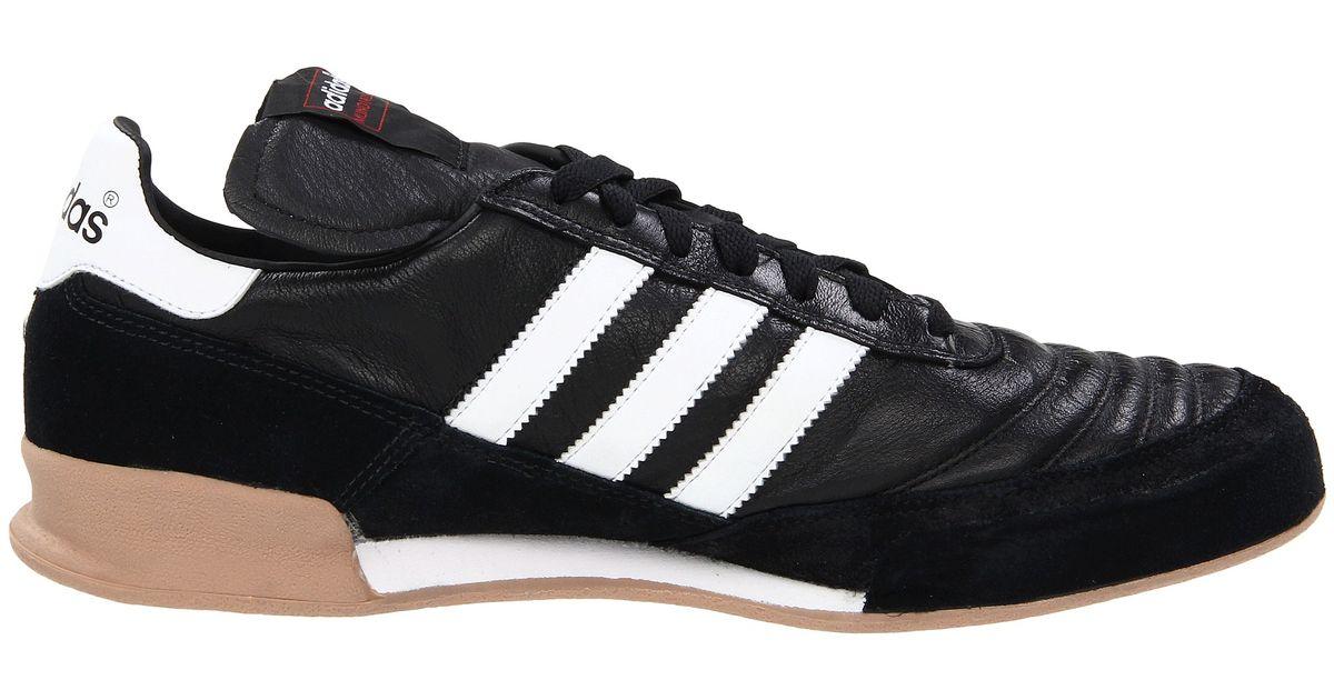 adidas originals mundial goal in black for black