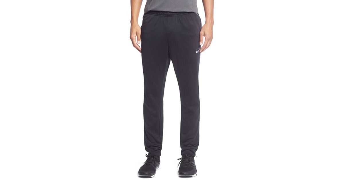 Excellent Nike ThermaFit Ko Pants In Gray For Men  Lyst