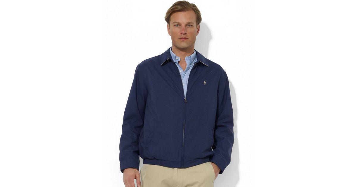 d7adf119a05c38 Polo Ralph Lauren Bi-Swing Windbreaker in Blue for Men - Lyst