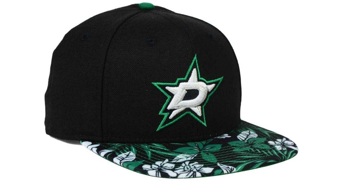 9fd491ad4 KTZ - Black Dallas Stars Wowie 9fifty Snapback Cap for Men - Lyst