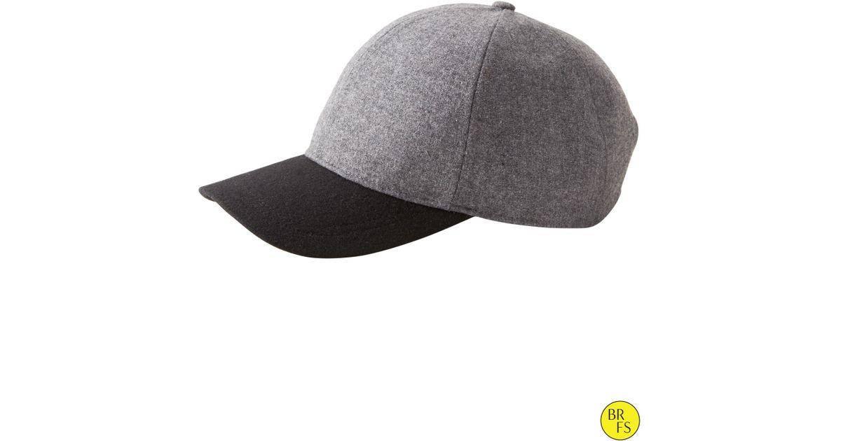 6ffcd63a1 Lyst - Banana Republic Factory Baseball Cap in Gray for Men