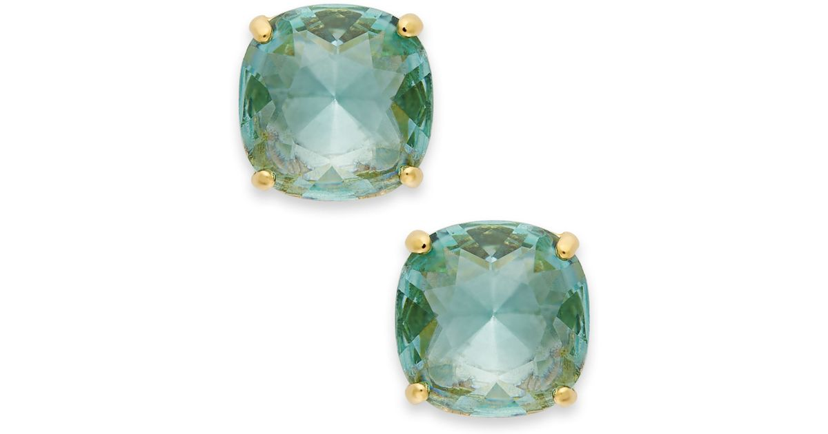 womens crystal vintage stone earrings buy en discount natural blue