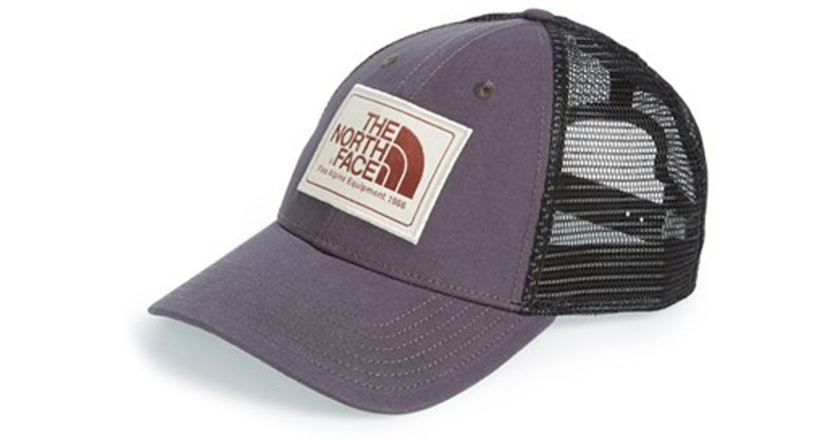 1135b38d05dfd The North Face  mudder  Trucker Hat in Black - Lyst