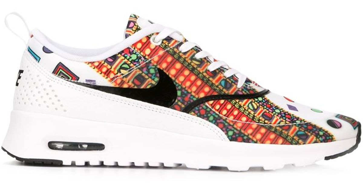 buy online 00e9e 8aeeb Nike  Air Max Thea Liberty  Sneakers in White - Lyst