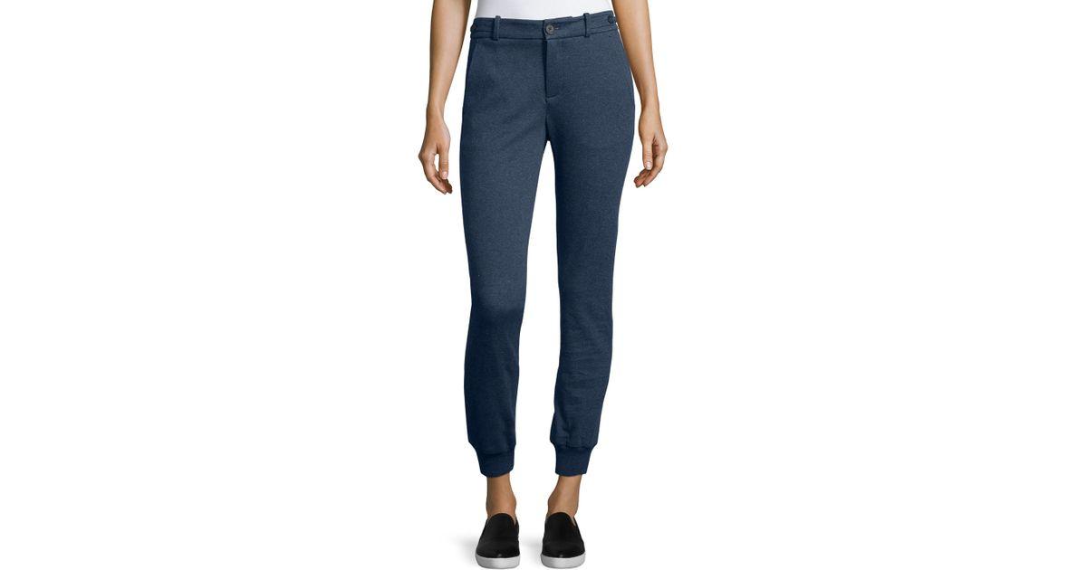 Amazing   Express  Casual Pants  Chambray Cotton Jogger Pant  Gray