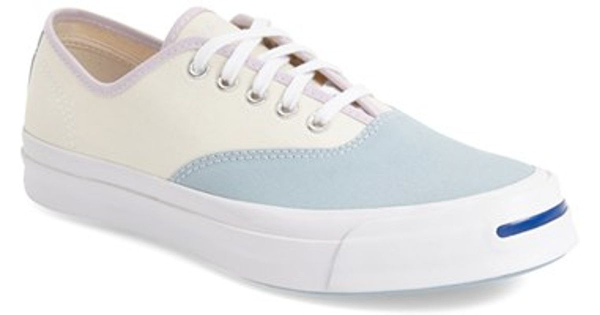 ac508e5f4d8f Lyst - Converse Jack Purcell Signature CVO Canvas Sneakers in Blue
