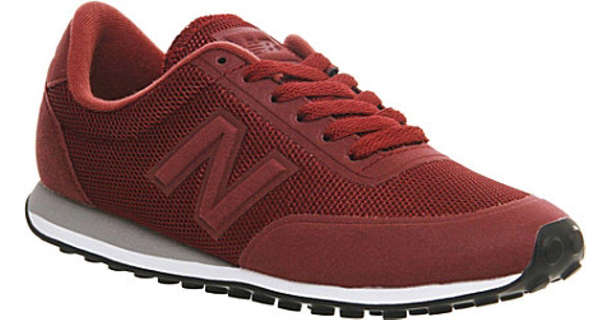 410 trainers burgundy new balance women