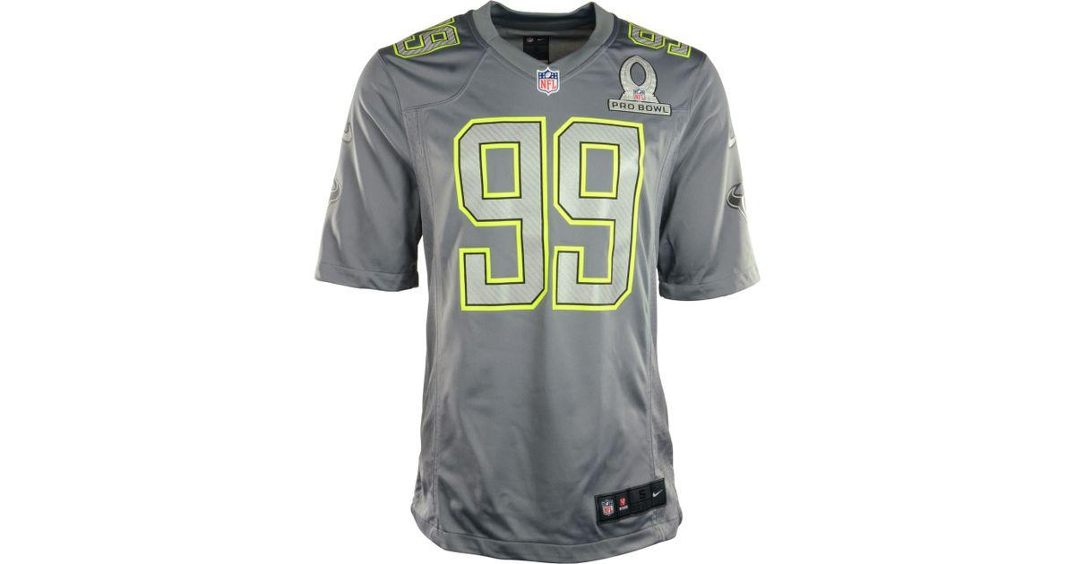 Top Nike Jj Watt Houston Texans Pro Bowl Jersey in Gray for Men Lyst  free shipping