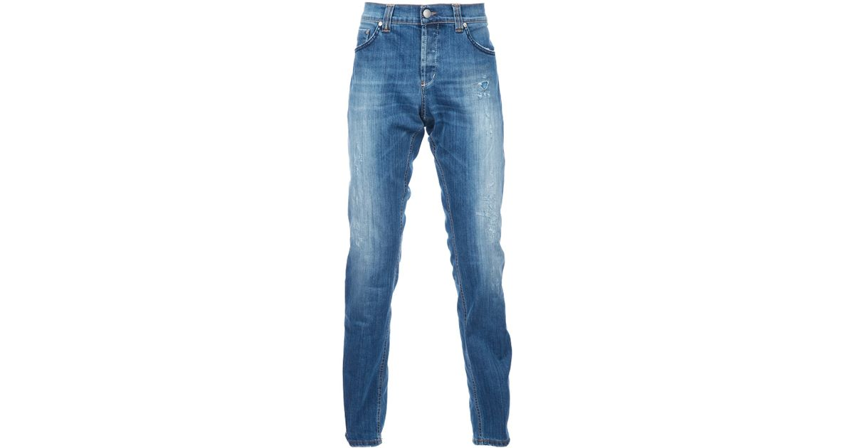 distressed effect jeans - Blue Dondup ZD6ecq3z