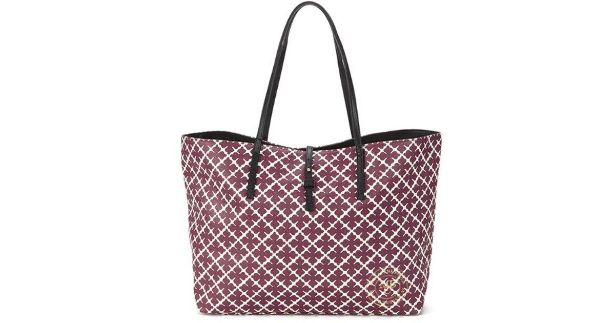 eaae9acfc20b Siste By Malene Birger Women S Grineeh Printed Tote Bag in Purple - Lyst  LE-75